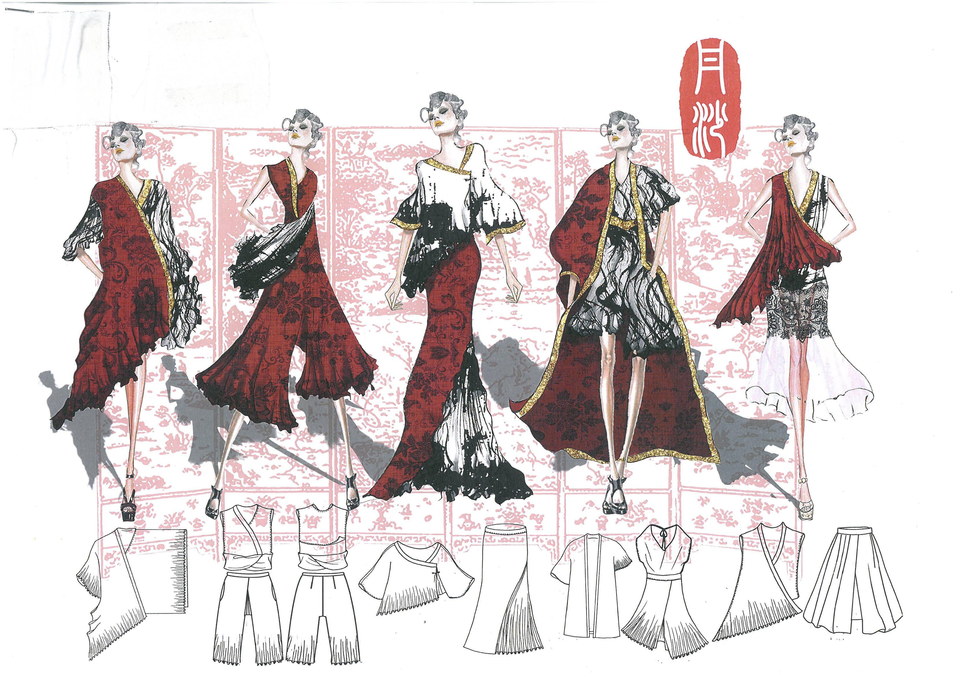 首届安徽省纺织服装创意设计大赛优秀作品--成衣设计图片