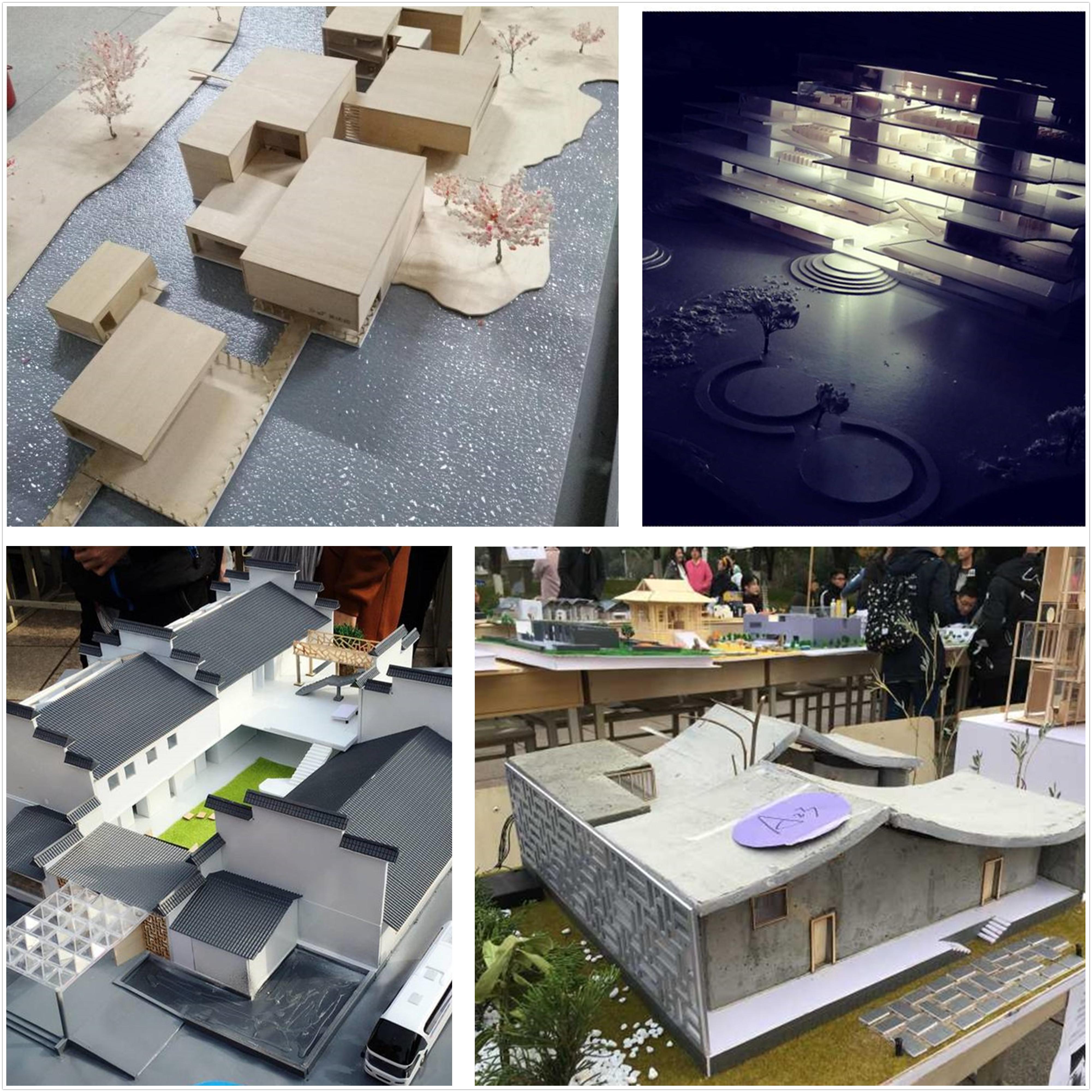 校第八届建筑模型制作设计大赛成功举办